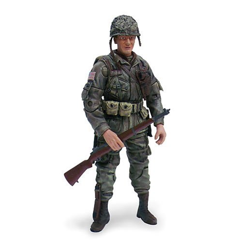 Buy Low Price Blue Box 1:18 Military Figure Army: Hanson – 1st Lieutenant (B000OH8RZE)