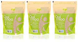 Nourish You Organic Quinoa, 500 grams (Value Pack of 3)