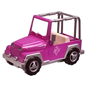 Amazon Com Our Generation 4x4 Jeep Car For 18 Inch Dolls