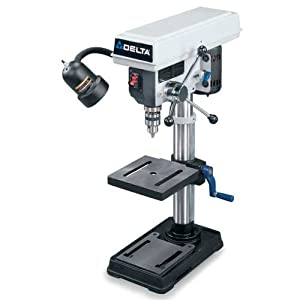 Factory-Reconditioned DELTA DP200R ShopMaster 10-Inch Bench Top Drill