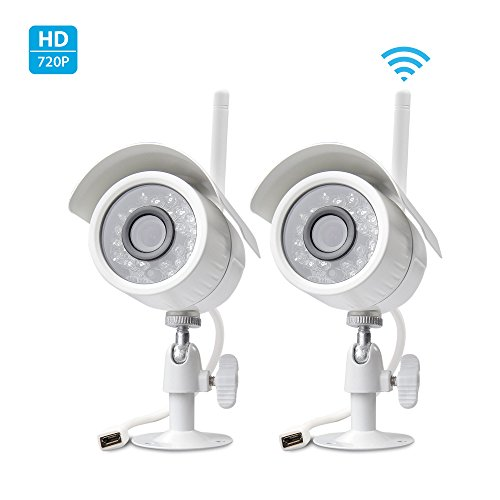 Zmodo 720p HD Outdoor Indoor WiFi Wireless IP Network Smart