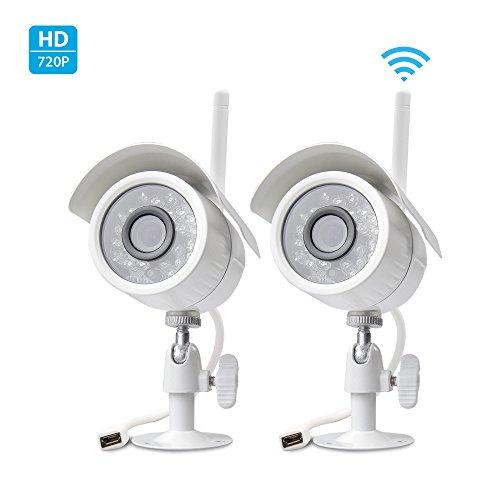 Zmodo 720p HD Outdoor Indoor WiFi Wireless IP Network Smart