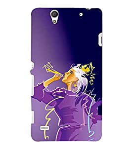 EPICCASE Party Girl Mobile Back Case Cover For Sony Xperia C4 (Designer Case)