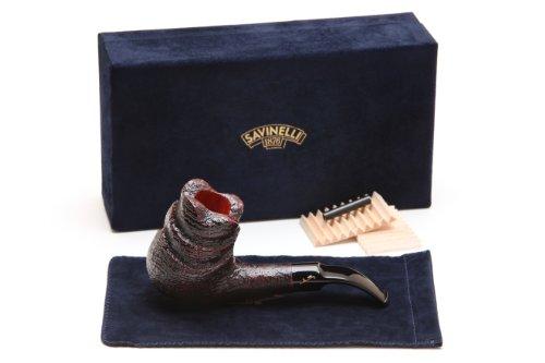 Savinelli Autograph Freestyle 4 Sandblast Tobacco Pipe