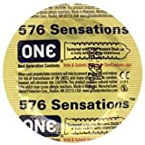 ONE 576 Sensations Condom Quantitiy 36 LOW SHIPPING!