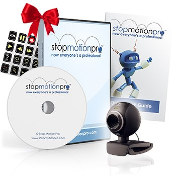 Stop Motion Pro Action! + Webcam Bundle