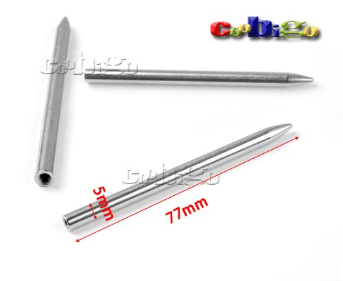 3 Steel Paracord Needle With Screw Thread Shaft Tip Stiching Needle Fid For Kniting Weaving Pracord Bracelet Belt FLQ121 stainless steel slant tip acne needle makeup tool