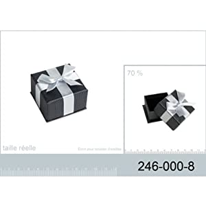 Ecrin boucles d 39 oreilles boite cadeau bijoux - Boite rangement boucles d oreilles ...