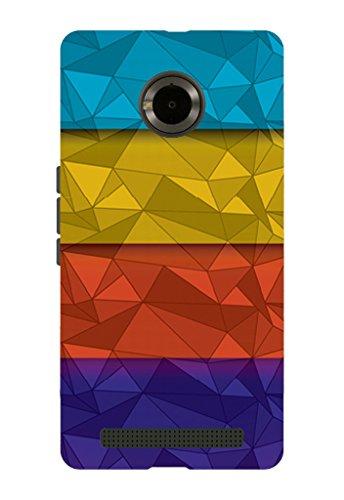 Kaira brand Designer Back Case Cover for Micromax YU Yuphoria (Color Grid)