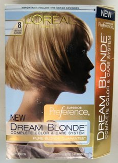 L'Oréal Dream Blondes Hair Color - Medium Blonde 8