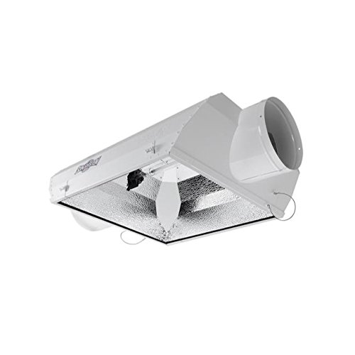 Sun System AC/DE Air-Cooled Double Ended Reflector 8 in for HPS HSP Lamps Hydroponics (8 Air Cooled Reflector Hood compare prices)