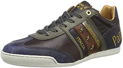 Pantofola D'oro Ascoli Low Men, Sneakers Basses Homme - Marron (after Dark), 44 EU