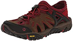 Merrell Women\'s All Out Blaze Sieve Water Shoe, Brown Sugar, 10 M US