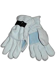 Winter Warm-Up - Little Girls' Fleece Gloves, Light Blue 27855-onesize