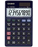 CASIO SL-310TER+-SA-EH - Calculadora básica, 8 x 70 x 118.5 mm, azul marino
