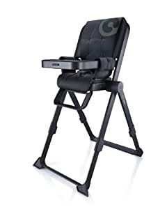 concord spin chaise haute ultra design et ergonomique noir b b s pu riculture. Black Bedroom Furniture Sets. Home Design Ideas