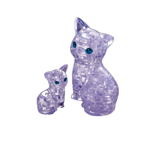 Crystal puzzle cat 50155 (japan import) - 1