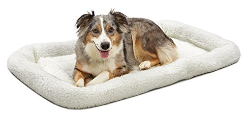 MidWest Deluxe Bolster Pet Bed for Dogs & Cats (Midwest Crate Cover compare prices)