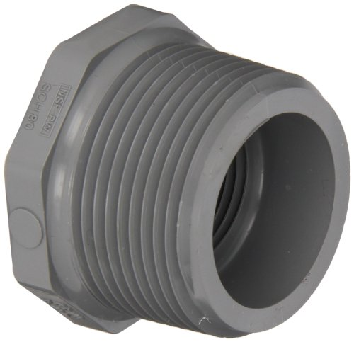 Spears c series cpvc pipe fitting bushing schedule