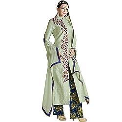Vasu Saree Sea Green Bhagalpuri Printed Trendy Salwar Suit