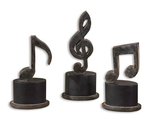 3 Piece Music Note Accessory Set