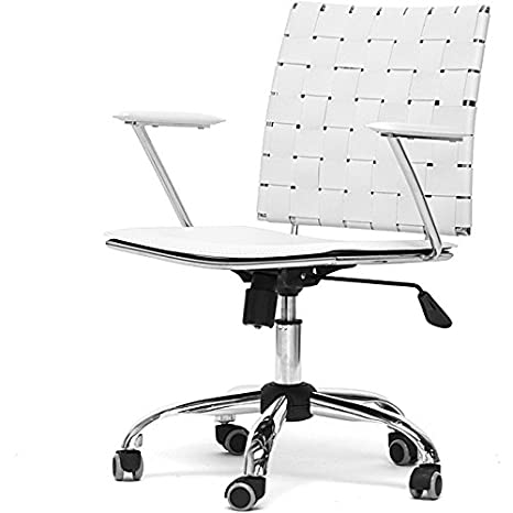 This White Dorm Chair Will Give Your Computer Desk a Stylish Update