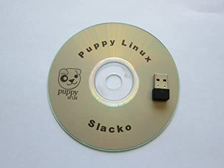Puppy Linux Live CD + WiFI 802.11n 150Mbps USB Adapter