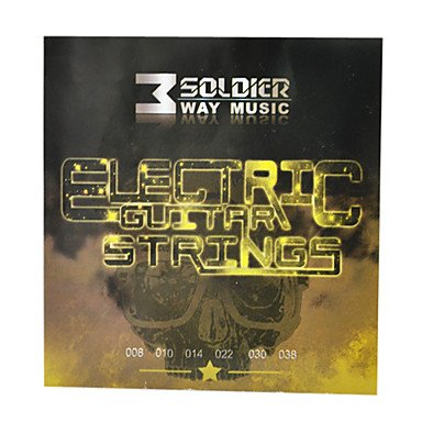 Zcl Soldier - (008-038) Coated Steel Electric Guitar Strings