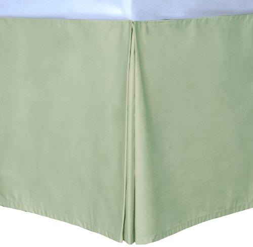Sage Full Cottonloft Colors Bed Skirt front-333471