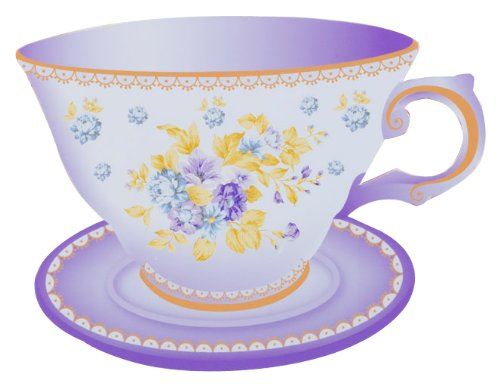 Truly Scrumptious Teacup Party Invitations front-385452