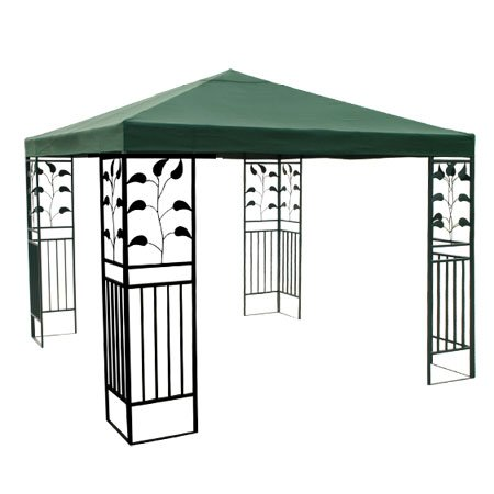 10x10 ft Garden Canopy Gazebo Top Replacement Green
