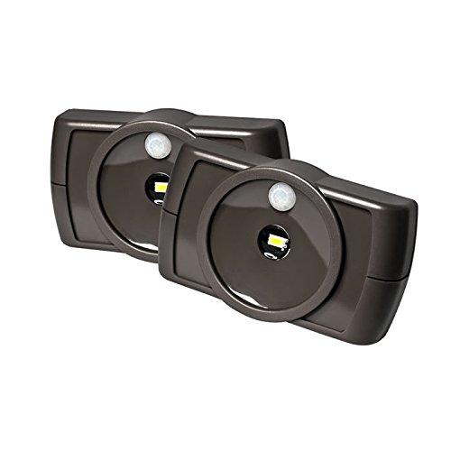 Wireless Motion Sensing Led Under Cabinet Light Color: Brown