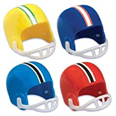 Buy Football Helmet Cupcake Cake Decoration Toppers - 12 ct by Oasis Supply