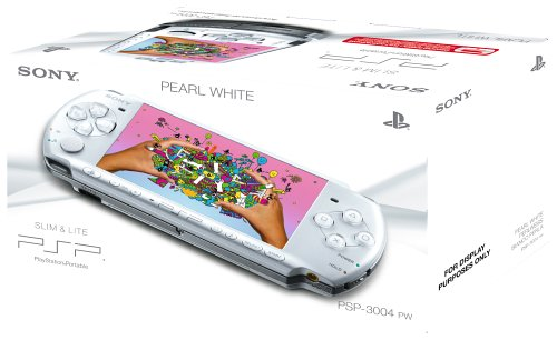 Sony PSP 3000 Series Slim and Lite Handheld Console (White)