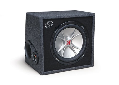 enclosed subwoofer systems kicker compvr 07vcvr154 4 ohm subwoofers in vent box reviews