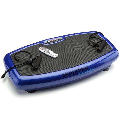 Skandika Plataforma vibratoria 600 - Plataforma vibratoria unisex (color azul)