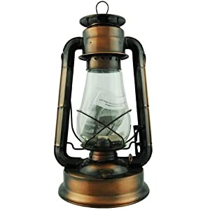Hurricane Lantern 15-inch (Uses Lamp Oil or Kerosene)