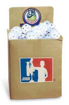 JUGS Bulldog White Poly Baseballs - bulk box of 100 (Bulldog Ball compare prices)