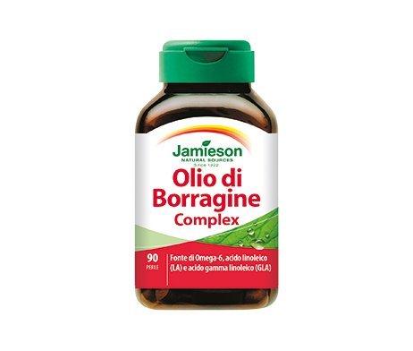 Olio di Borragine Complex - Jamieson - fonte di Omega-6