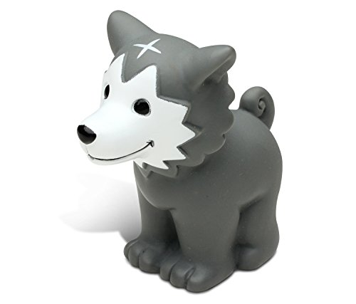 Puzzled Bath Buddy Wolf Water Squirter
