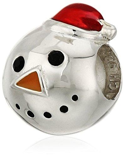 Chamilia Mr. Snowman Bead Charm
