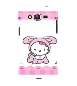 Printvisa Premium Back Cover Animated Baby Kitty Design For Samsung Galaxy Grand Prime G530h