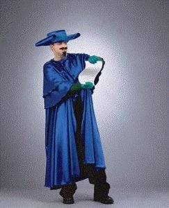Wizard of Oz - Munchkin Coroner Adult Halloween Costume Size 46 Large