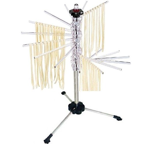 Spiral Pasta Drying Dry Rack for Kitchenaid Fettuccine Spaghetti Makers Strong