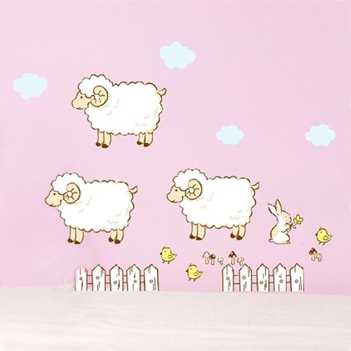 Sheep Nursery Decor