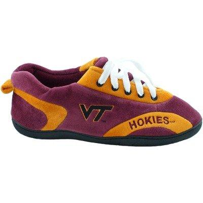 Comfy Feet NCAA All Around Youth Slippers - Virginia Tech Hokies