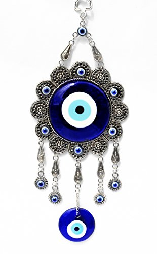 Blue Evil Eye Protection Hanging Ornament (With a Betterdecor Pounch)-009sf (Protection Home compare prices)