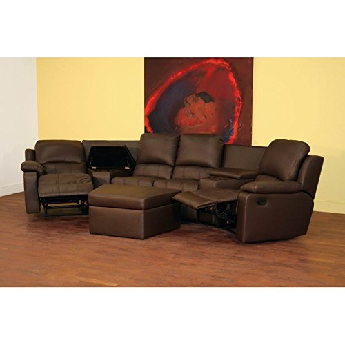 BXS 8802 Brown Top Grain Leather Home Theater Curved  : 41LJ9z9JvJL from hometheatersonline.com size 500 x 500 jpeg 27kB