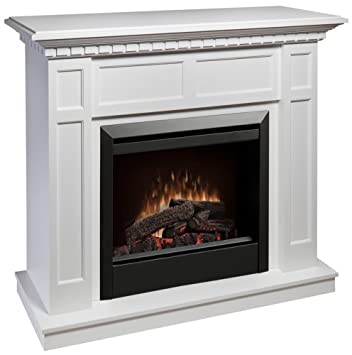 Dimplex White Electric Fireplace