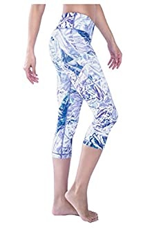 WITH Women's Capris Crystal Foil